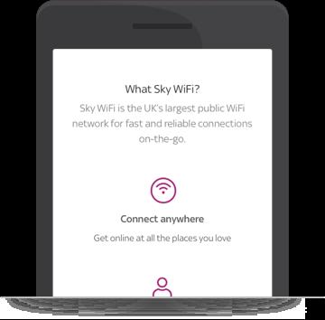 Find a WiFi Hotspot   Sky com
