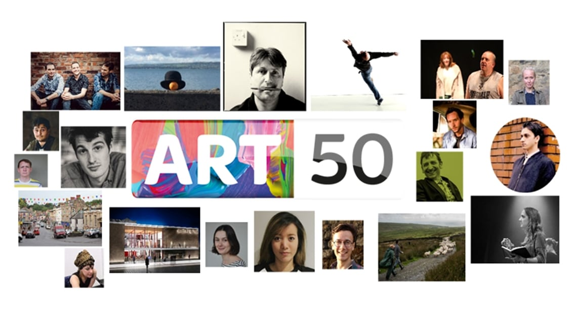 Arts 50 on Sky Arts
