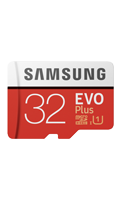 Memory Evo Plus 32GB MicroSD & Adaptor