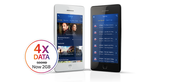 mobile phones tablets sim only offers sky mobile