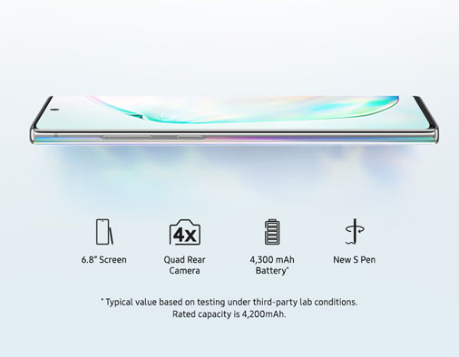 Go big with the Galaxy Note10+ 5G