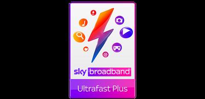 Sky TV & Ultrafast Plus Broadband
