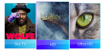 Sky TV, HD & UHD