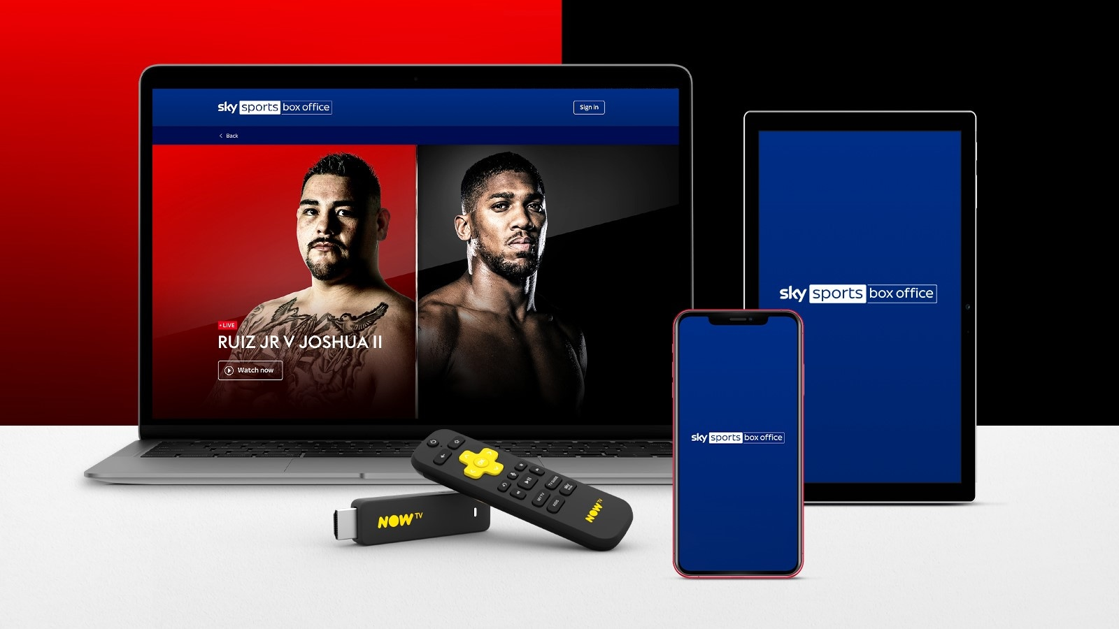 How to book Usyk v Chisora if you're not a Sky customer