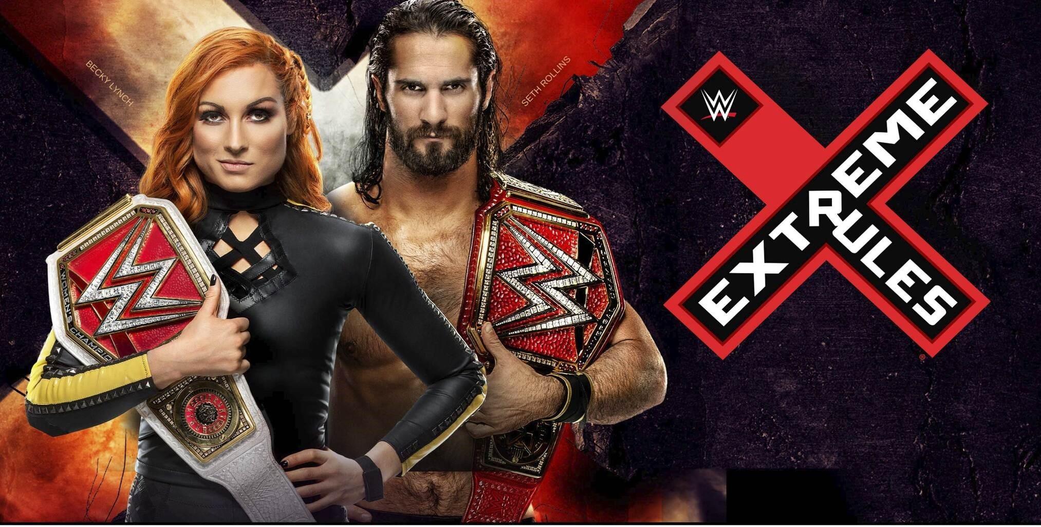 Resultado de imagem para Extreme rules 2019
