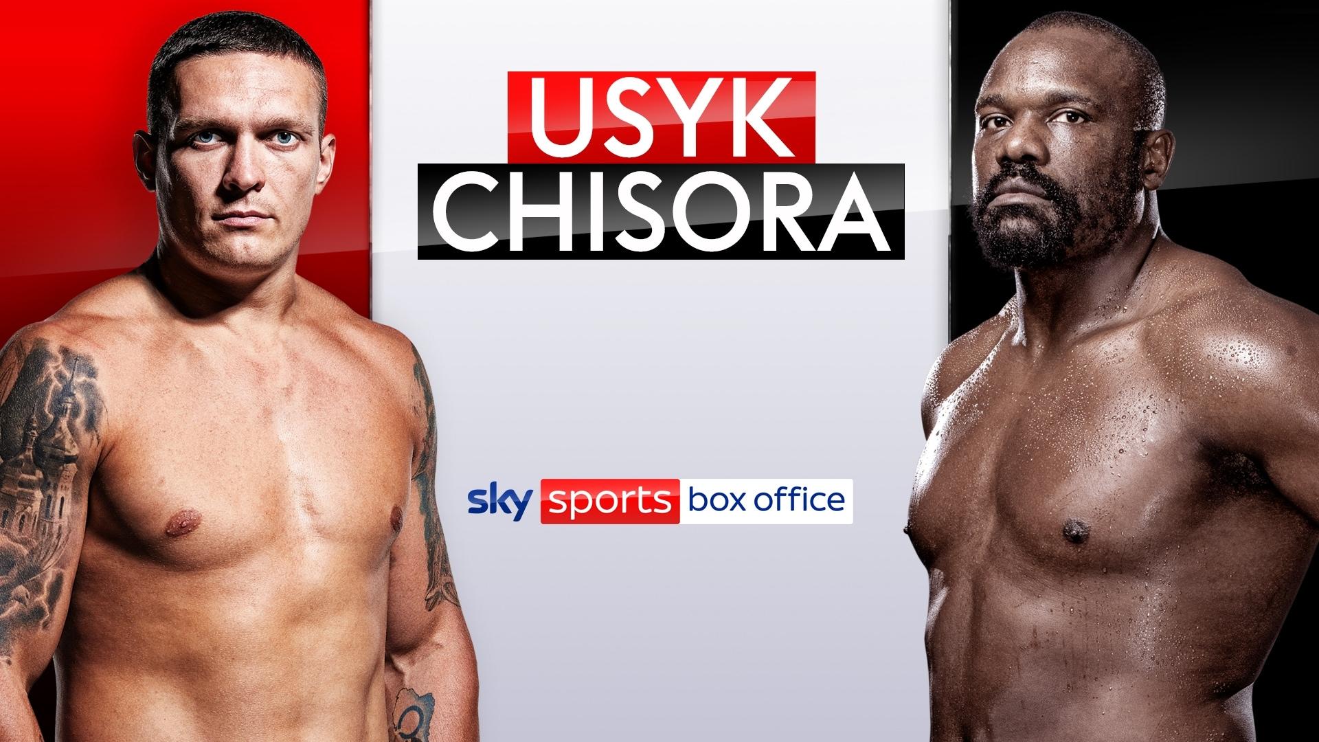 Usyk vs Chisora