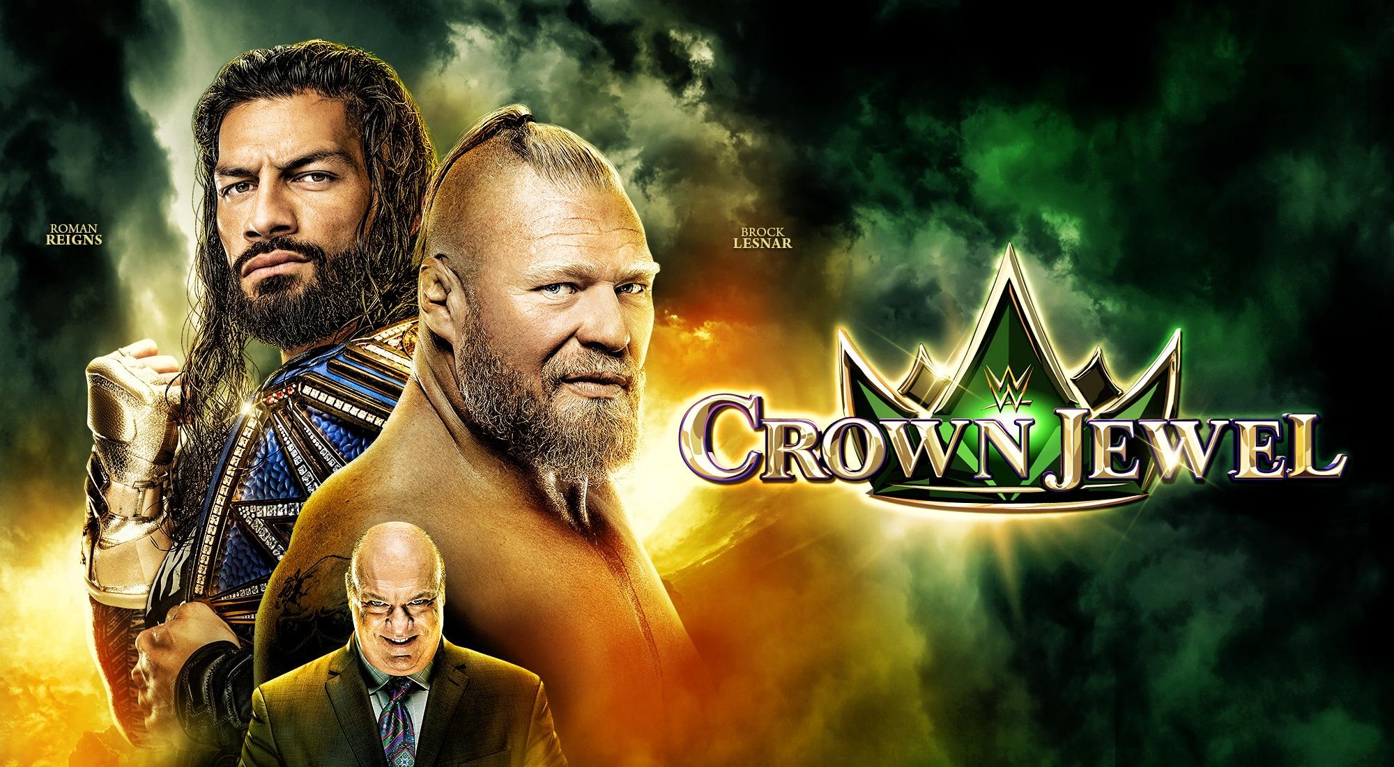 Watch WWE Crown Jewel on BT Sport Box Office