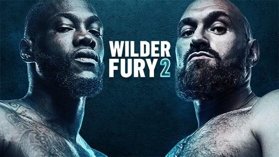 Wilder v Fury 2, BT Sport Box Office