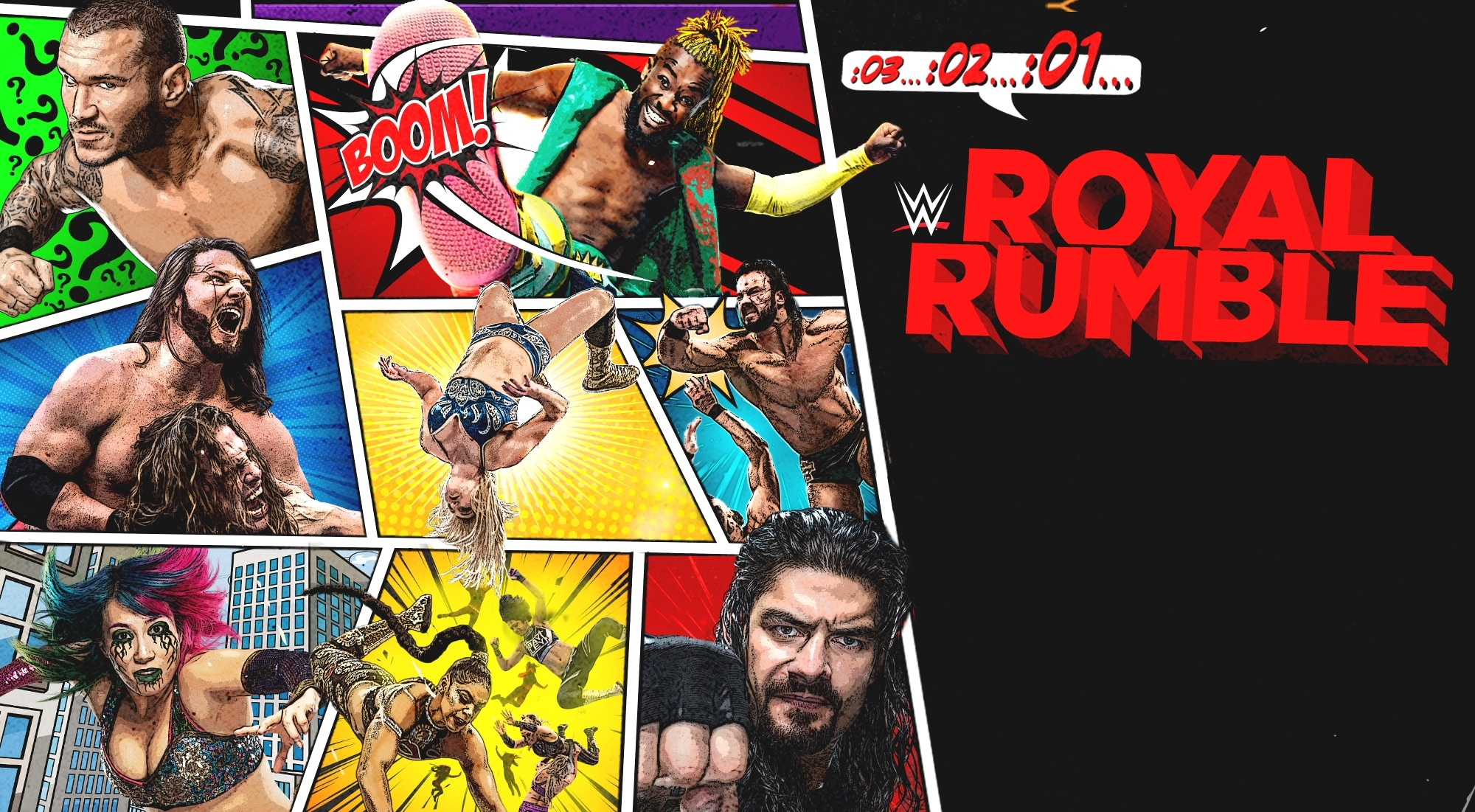 Watch WWE Royal Rumble on BT Sport Box Office