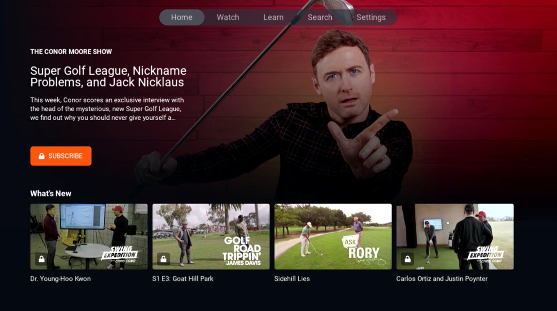GolfPass homepage