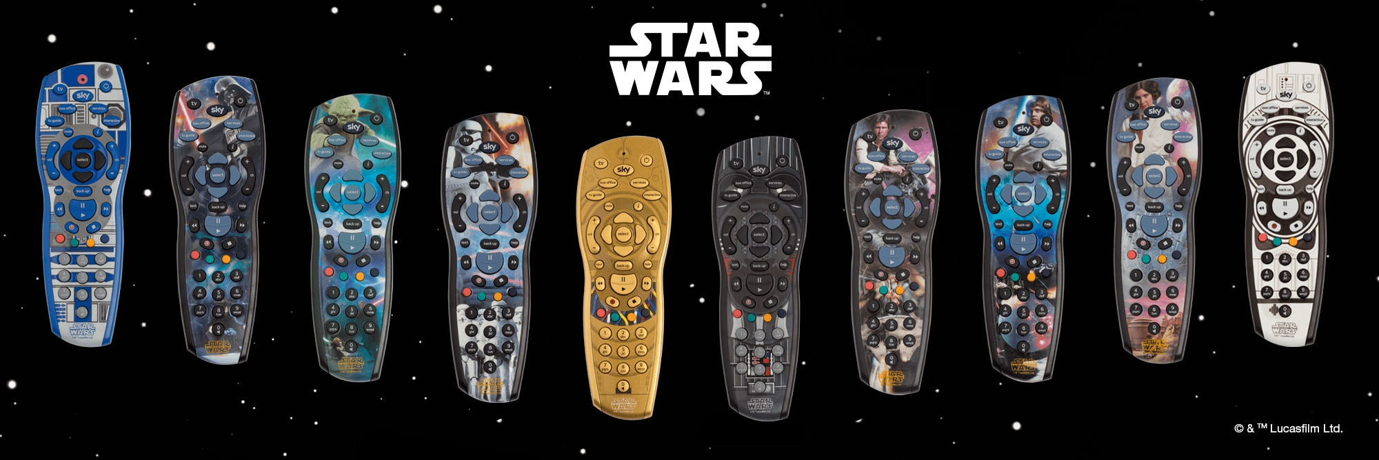 How To Use Your Sky Remote Control Help 3 Way Switch Wiring Diagram For Amp Standby 10 Exclusive Star Wars Hd Remotes