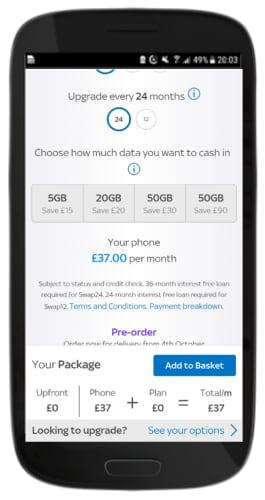 Piggybank rewards screen in Shop