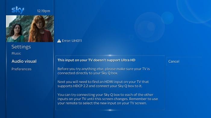Setting up Ultra HD | Sky Help | Sky com