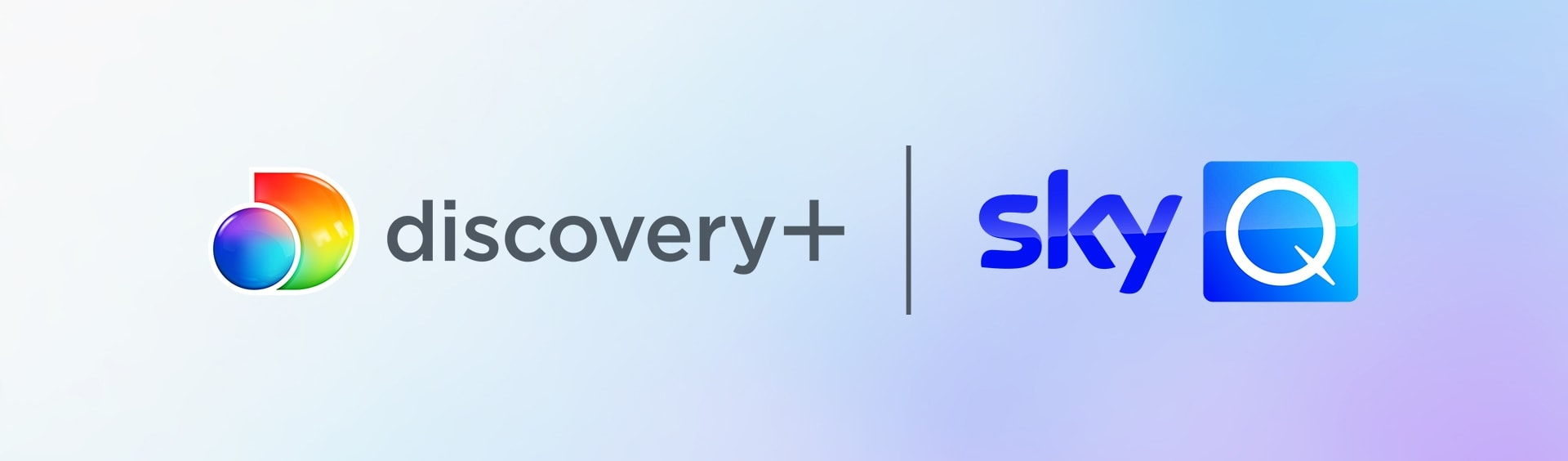 discovery+ logo banner image