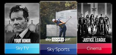 Sky TV, Cinema & Sports