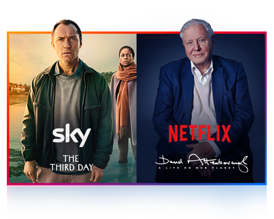 Sky TV and Netflix