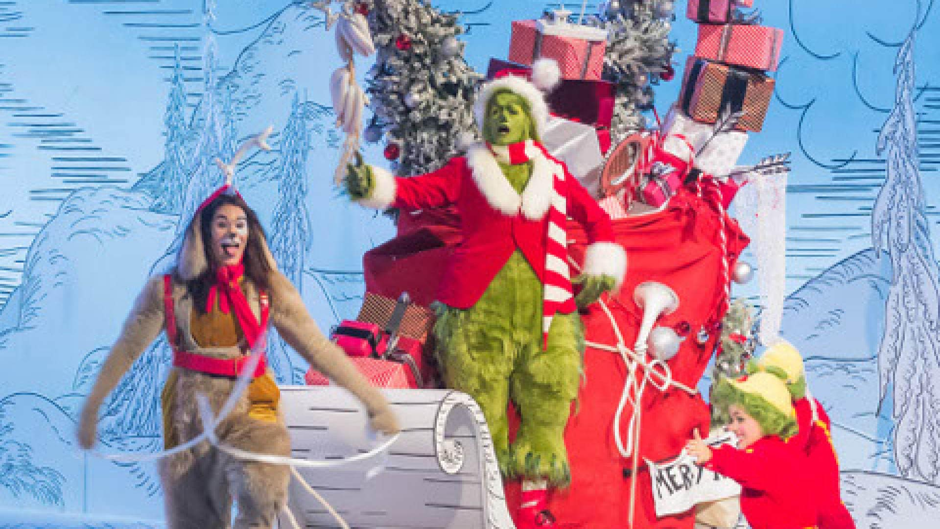 Audio Describing Dr Seuss The Grinch Musical