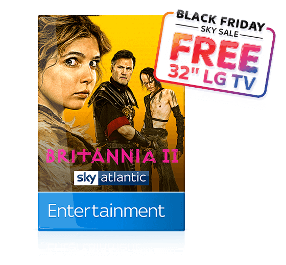 Sky Entertainment - more value than ever with over 300 channels, including Sky Atlantic