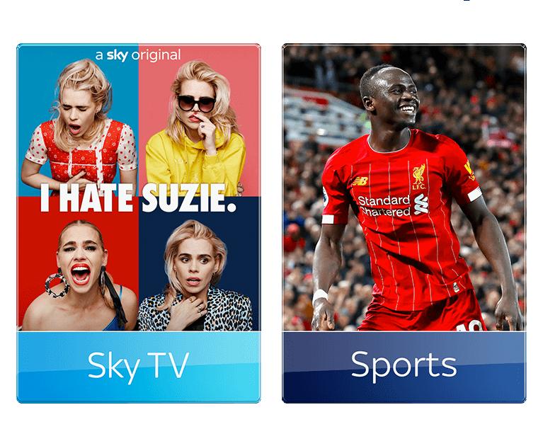 Add Sky Sports