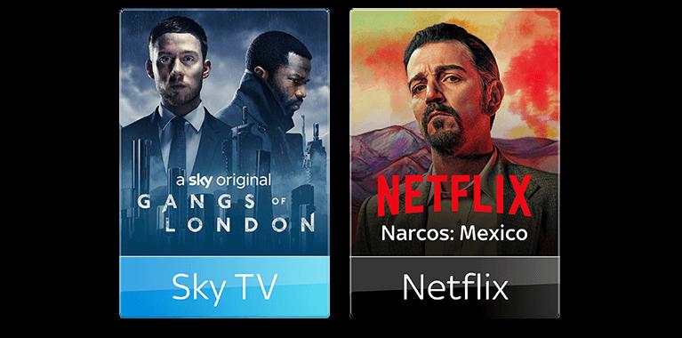TV + Netflix