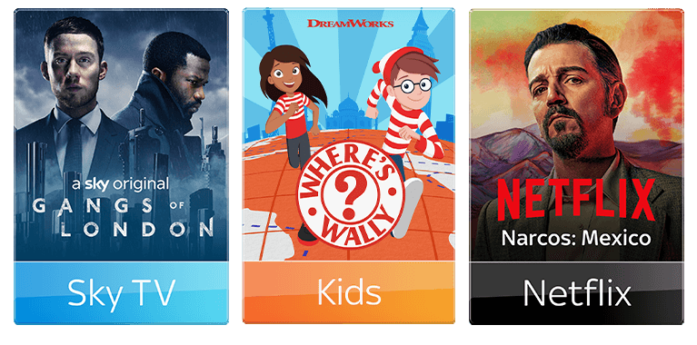 Entertainment + Kids Offer