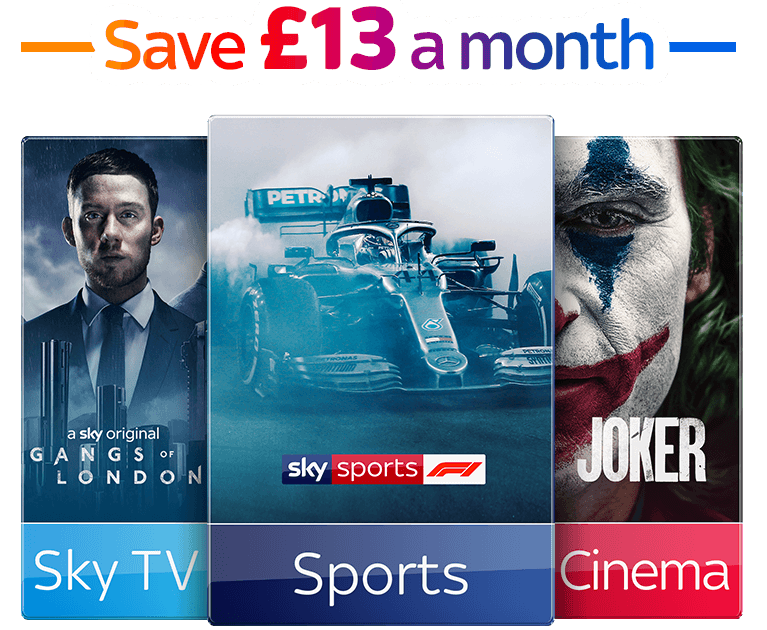 Sky TV & Sports & Cinema