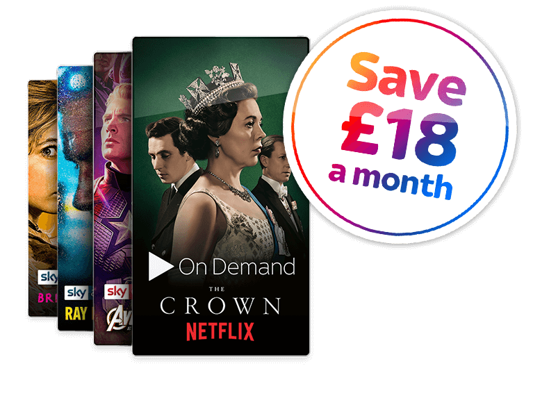 Entertainment + Ultimate on Demand + Cinema + HD Offer
