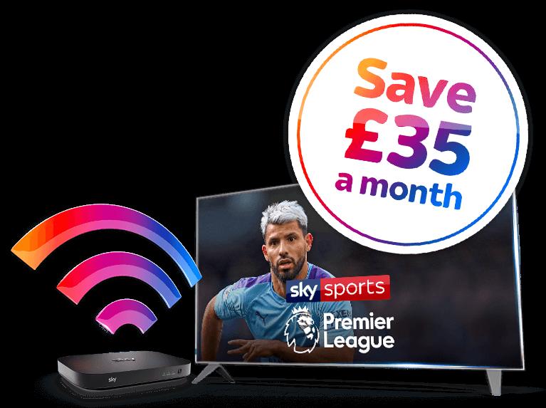 Entertainment + Broadband + Sports Deal