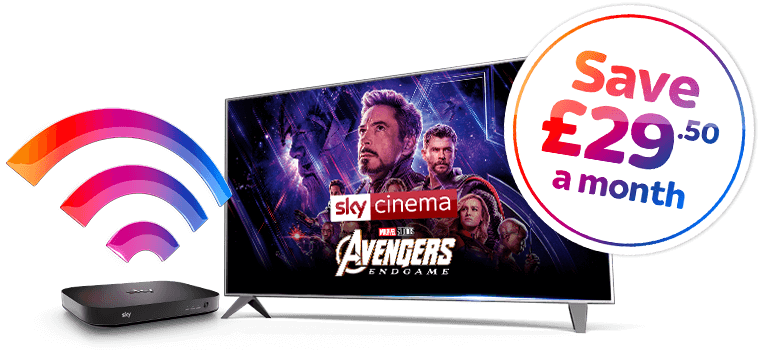 Entertainment + Broadband + Cinema Offer
