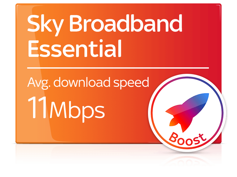 Sky Broadband Essential + Sky Broadband Boost