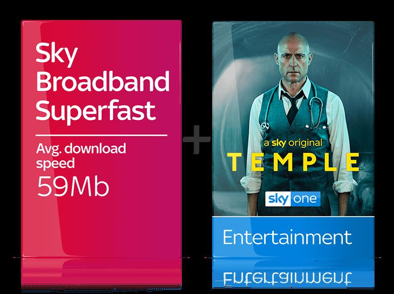 Sky Broadband Superfast + Sky TV