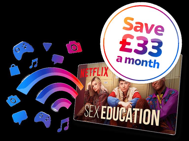 Entertainment + Broadband + UOD Deal