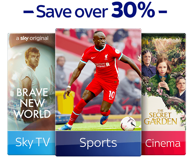Join Sky TV with Sky Sports and Sky Cinema