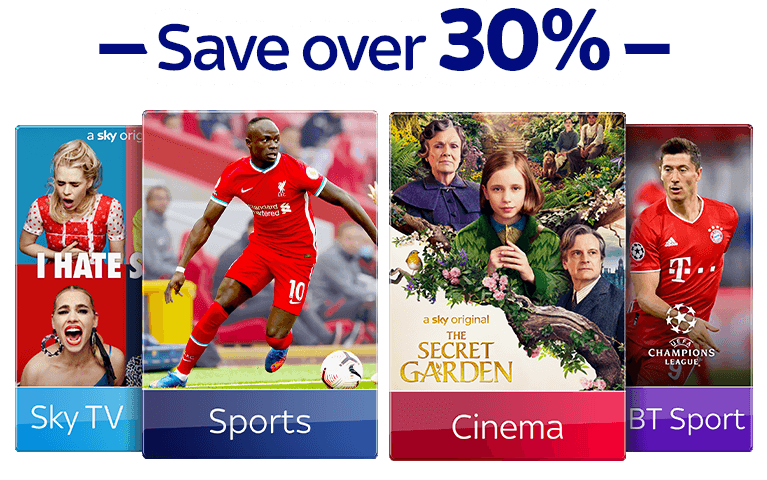 Join Sky TV, Sky Sports, Sky Cinema & BT Sport