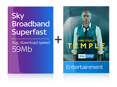 Sky Broadband Superfast & Entertainment Package