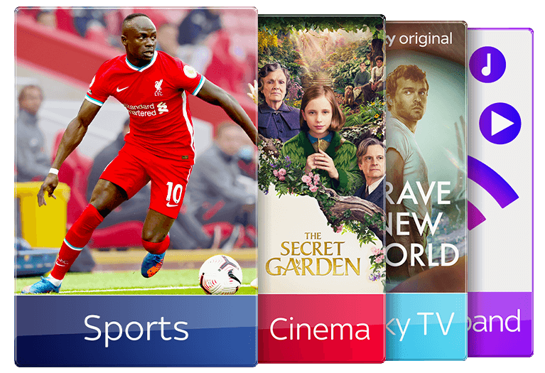Join Sky TV with Sky Sports & Sky Cinema