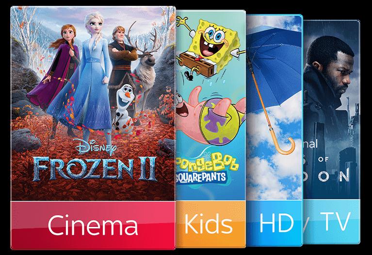Sky TV & Kids & Cinema