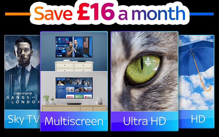 Sky TV, Multiscreen, HD & UHD