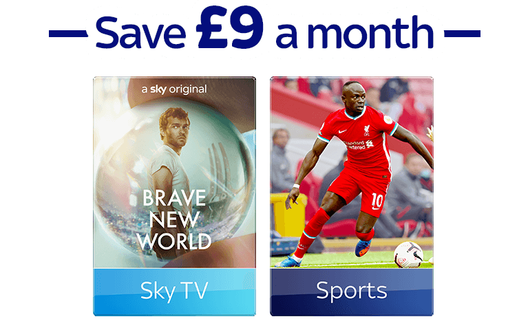 Join Sky TV with Sky Sports and Cinema