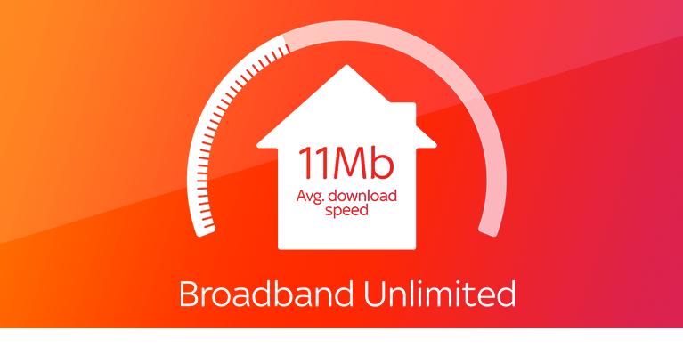Sky Broadband Unlimited