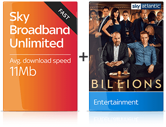 Sky Broadband & Entertainment Package
