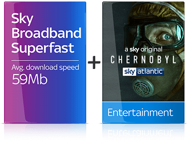 Sky Fibre Max & Entertainment Package