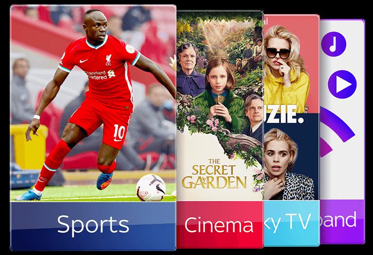 Join Sky TV with Sky Sports & Sky Cinema